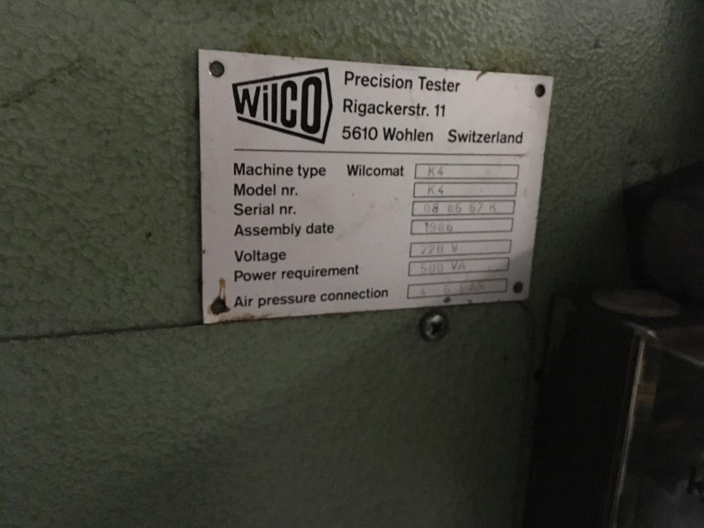 Wilco K 4 tester