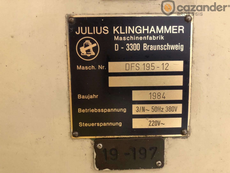 Klinghammer DFS 195 flanger - seamer
