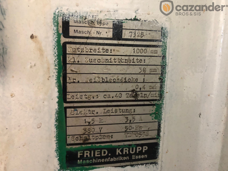 Krupp SDvt II duplex slitter