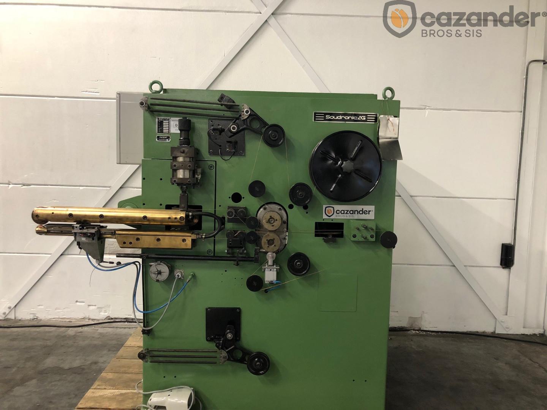 Soudronic NRZd 12E/AE soldadora de cuerpo