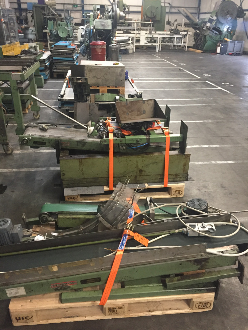 DPF KEH 40-200 forming press - curler