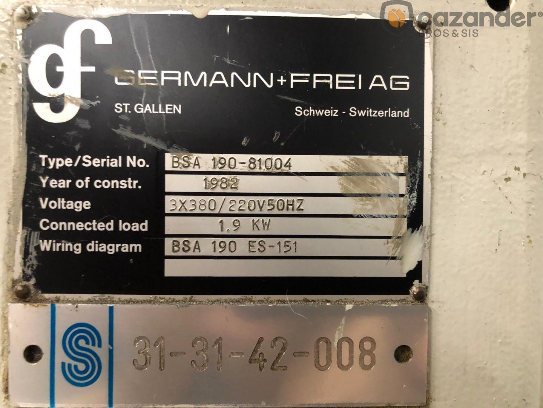 Germann & Frei BSA 190 flanger