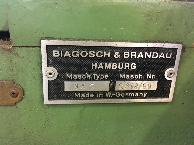 Biagosch & Brandau GA / II jointeuse
