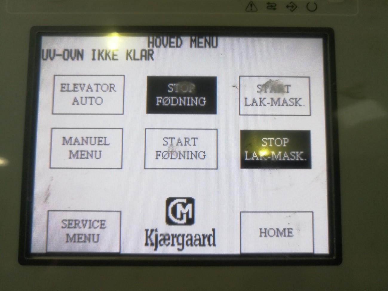 control panel feeder
