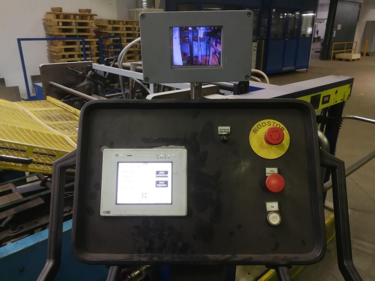 control panel coater