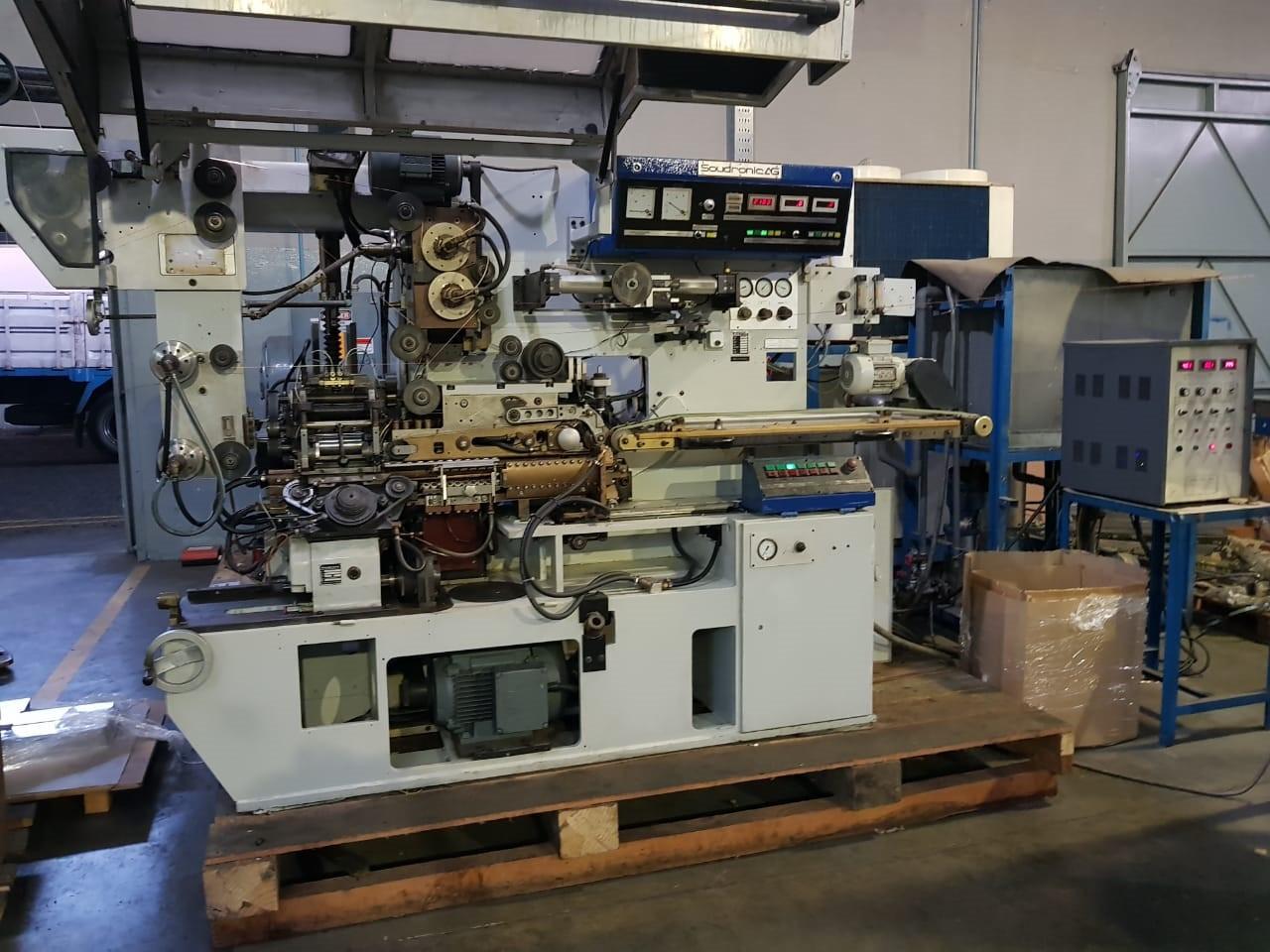 Soudronic FBB 400/470 bodymaker welder