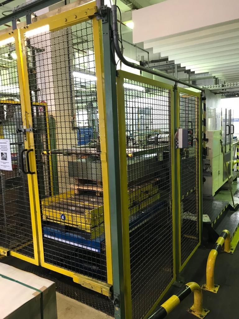Karges Hammer SD 1150 duplex slitter - robot