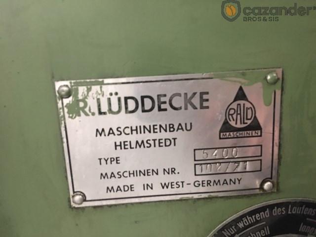 Luddecke 5400 pestañadora - bordonadora