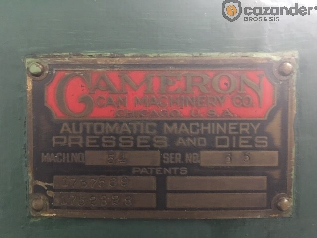 Cameron 53 seamer