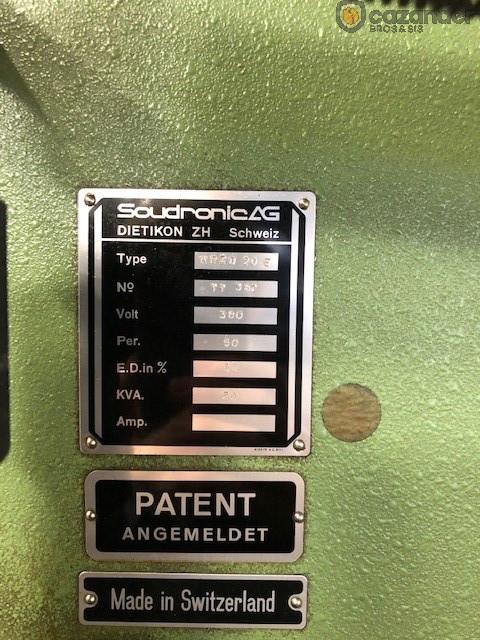Soudronic NRZD 20 E bodymaker welder