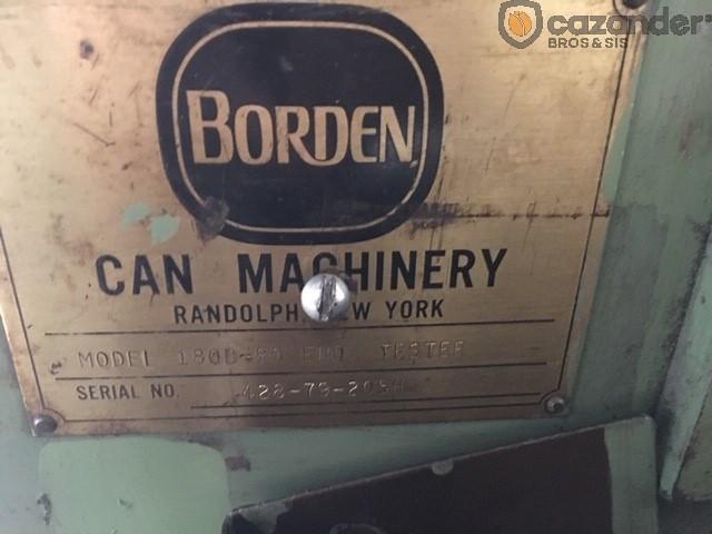 Borden 180 B-80 testeuse