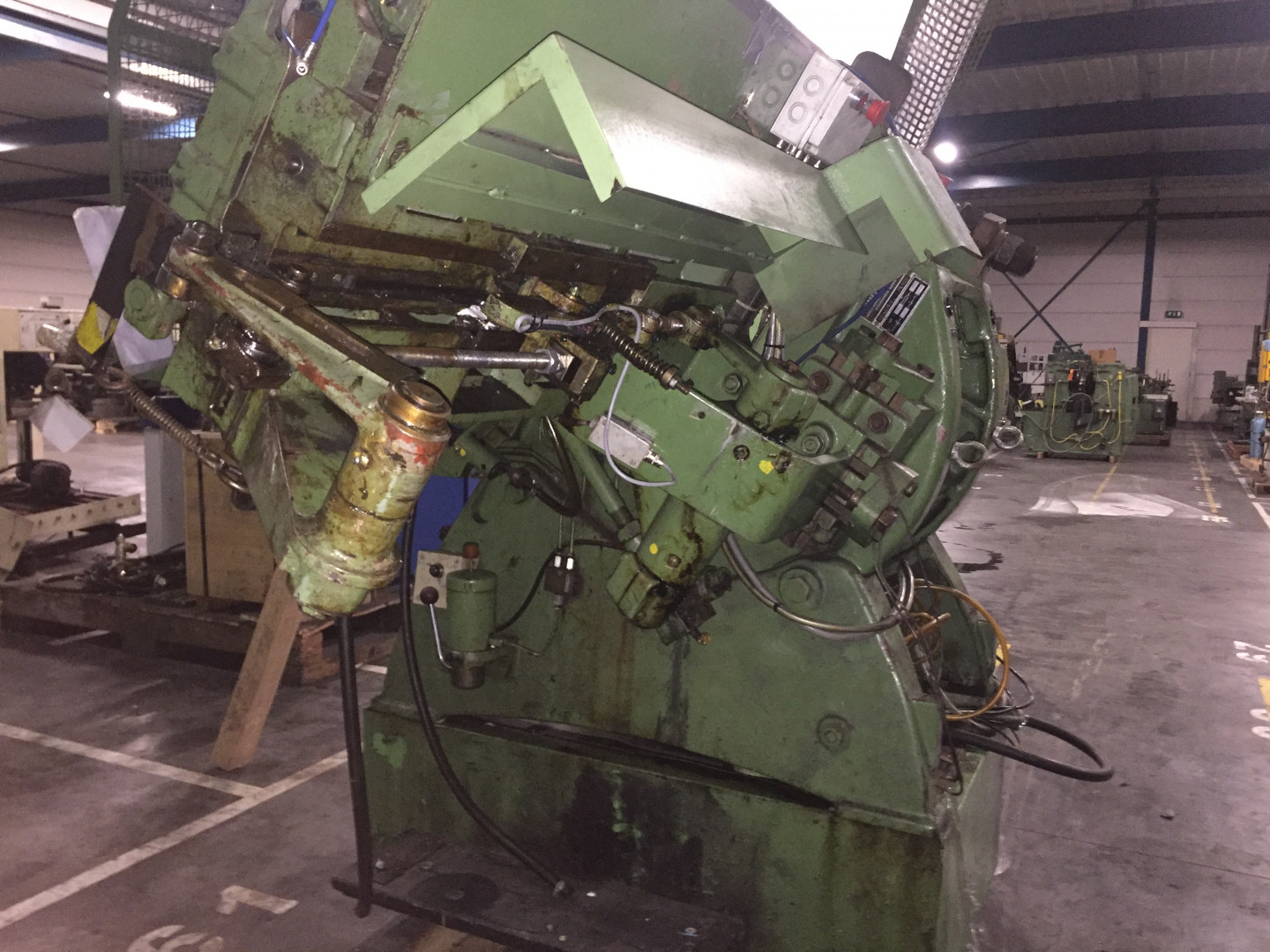 Karges-Hammer ASts 226/2 stripfeed press