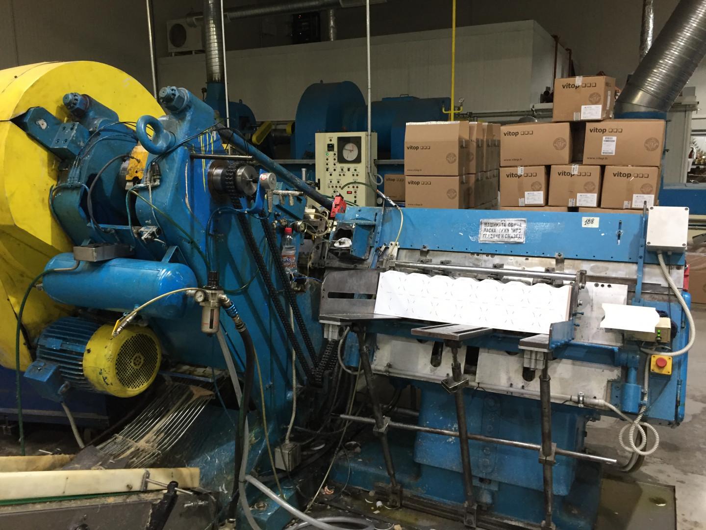 Krupp  stripfeed press