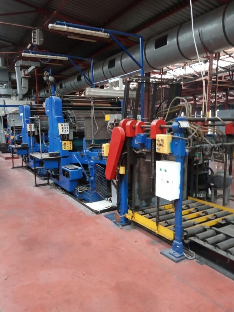 Crabtree 4036 tandem printing presses