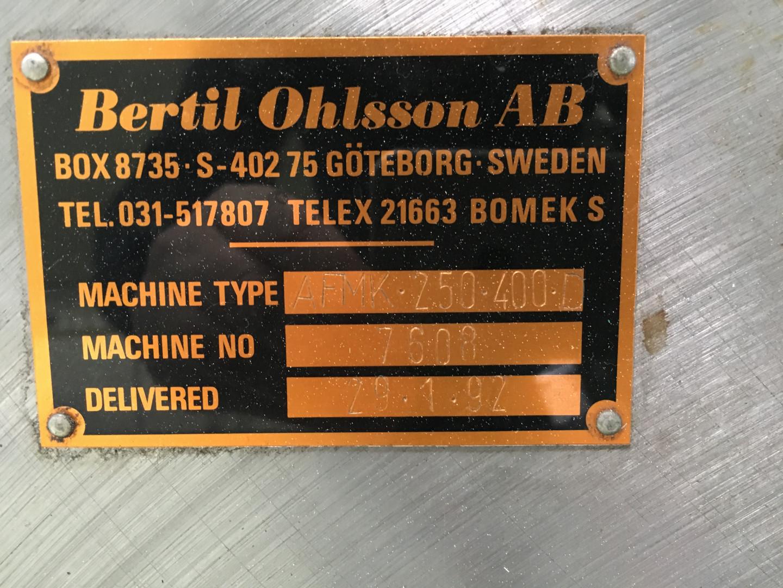 machine identification plate