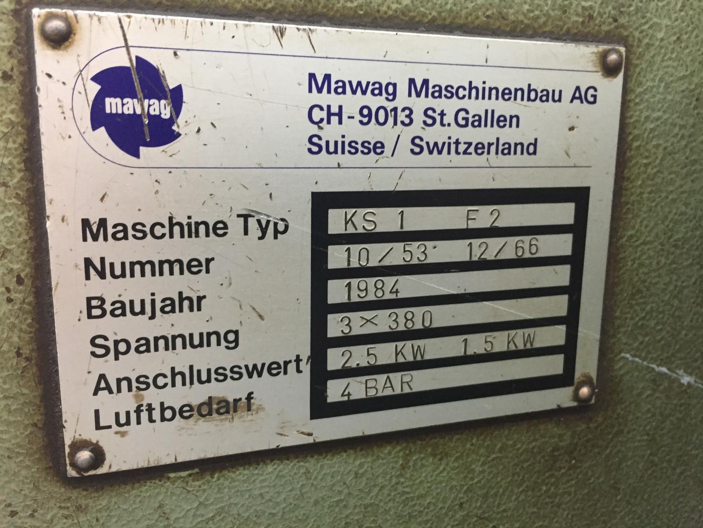 MAWAG KS 1 F2 shear - slitter