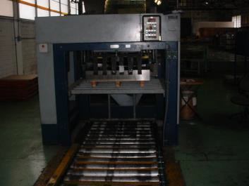 Mailander 121 monocolour printing / coating line with 30 meter LTG tunnel-oven
