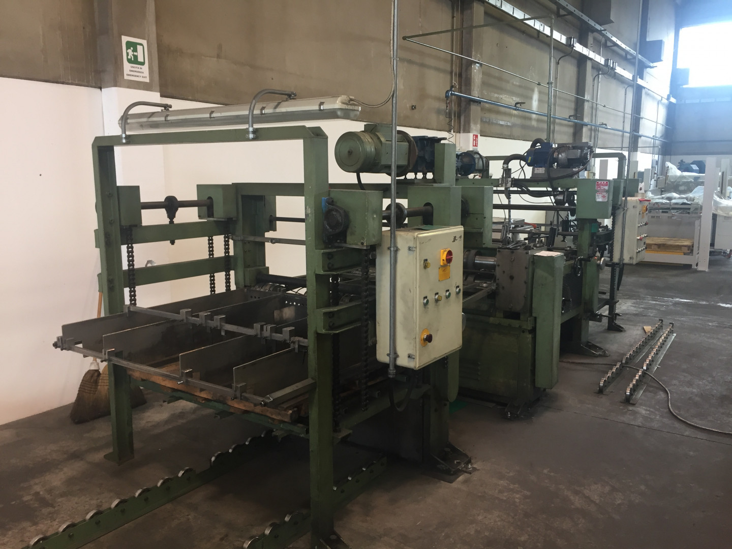 MGR automatic single slitter