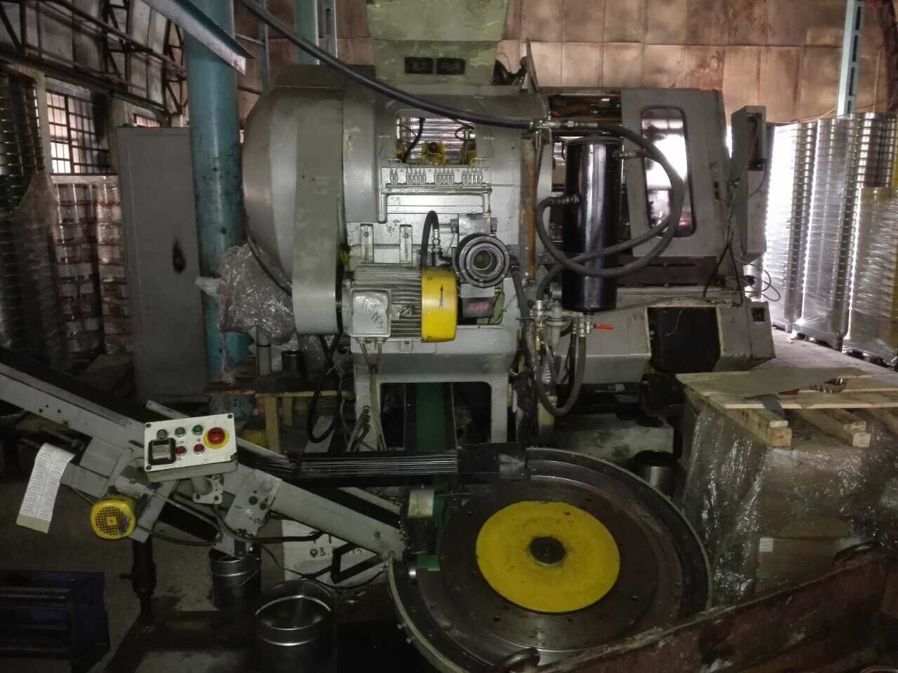 Blema PKXD 40.3-2 stripfeed press - disc curler