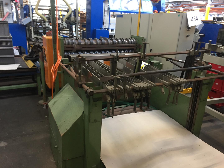Krupp  single slitter - lift table - stacking unit