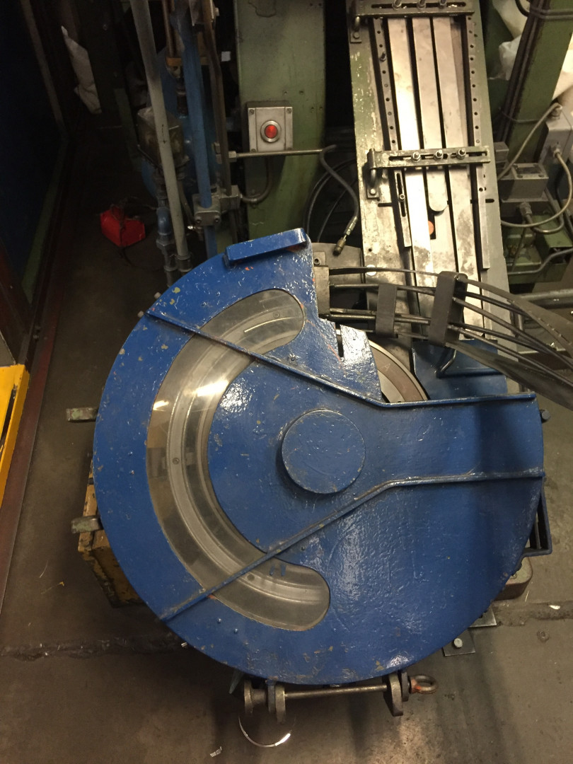 Naroska StA O/I stripfeed press - disc curler