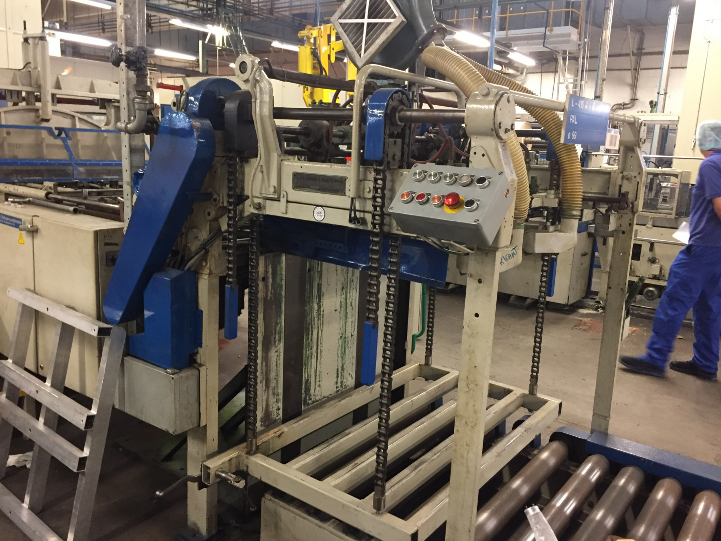 TDV  scroll shear - sheet feeder