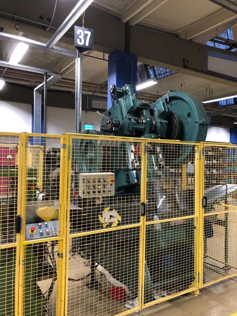 DPF KEHT 100/350 stripfeed press