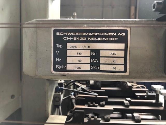 SMAG ZSMa-5/120 bodymaker welder