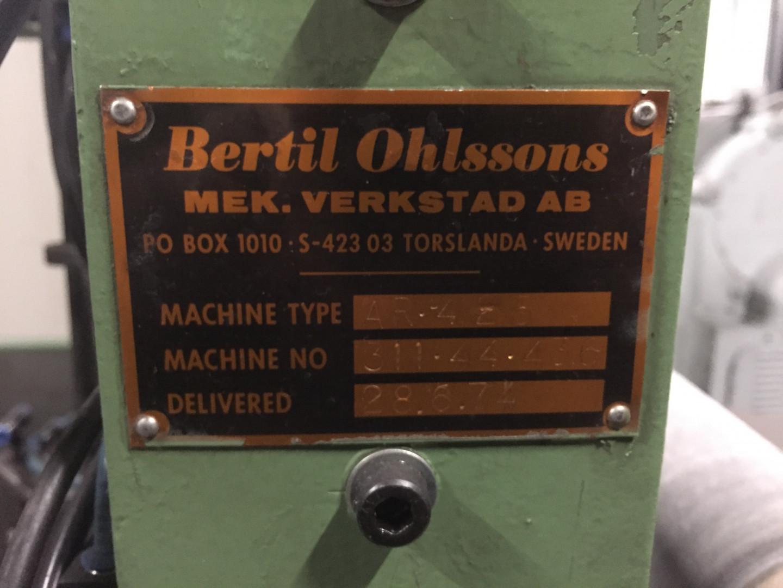 Bertil Ohlsson AR 425 rouleuse de corps