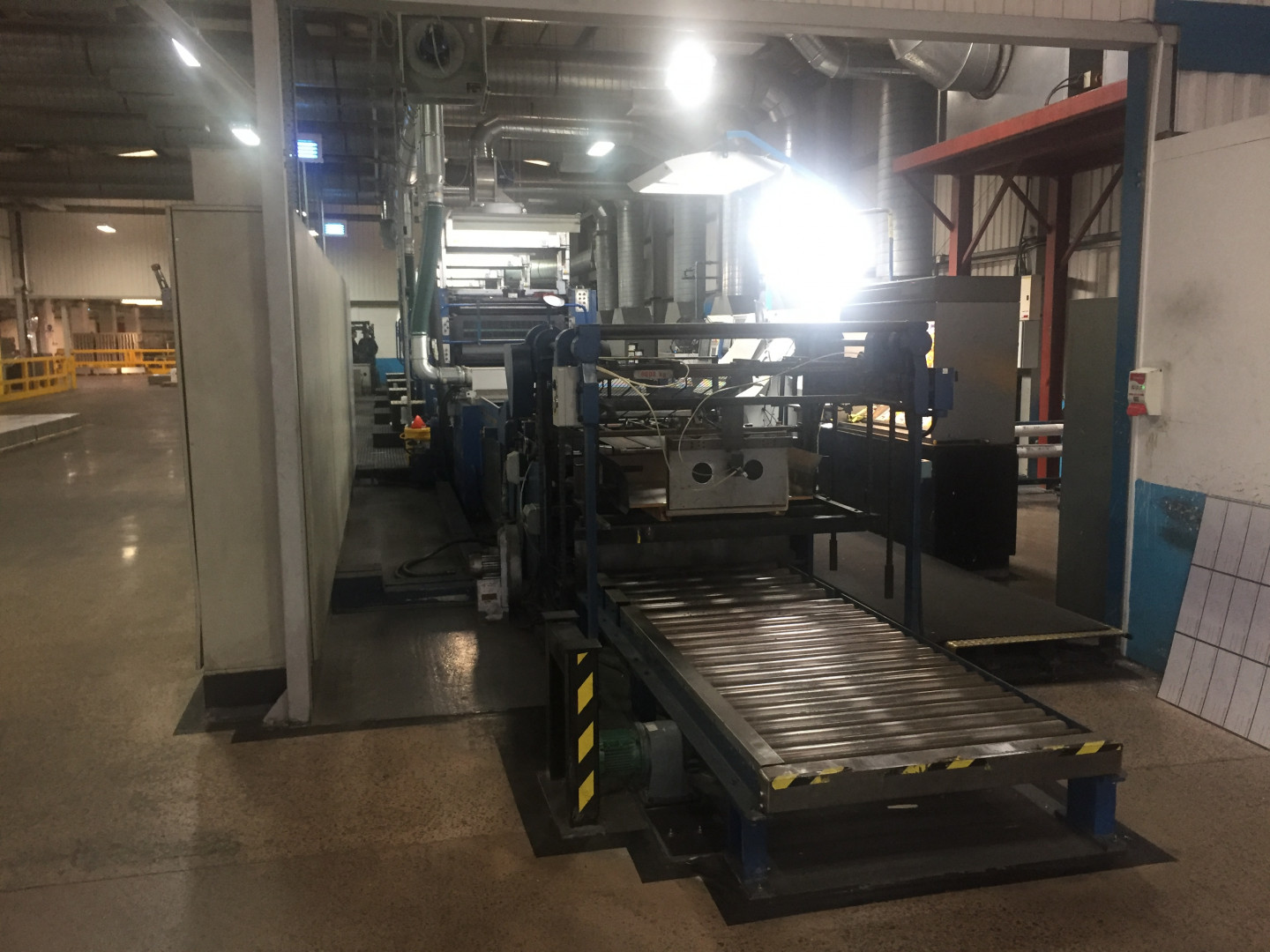 Crabtree Fast Ready 4-colour UV printing line