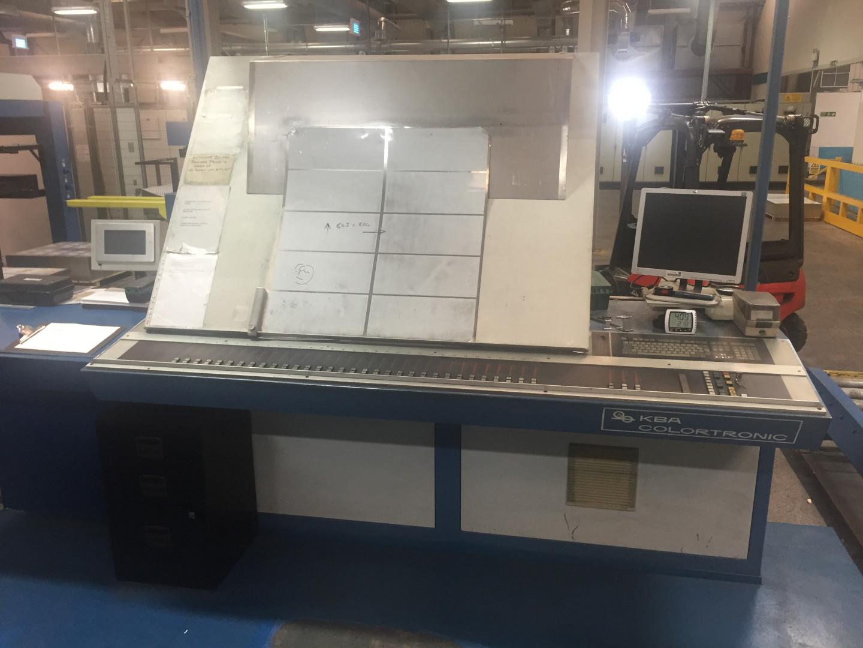 KBA MetalStar 1 UV printing line