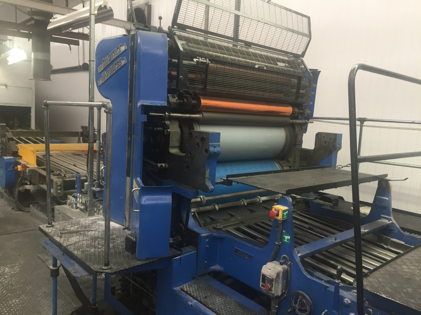 Crabtree Marquess 4036 tandem offset printing - sheet feeder