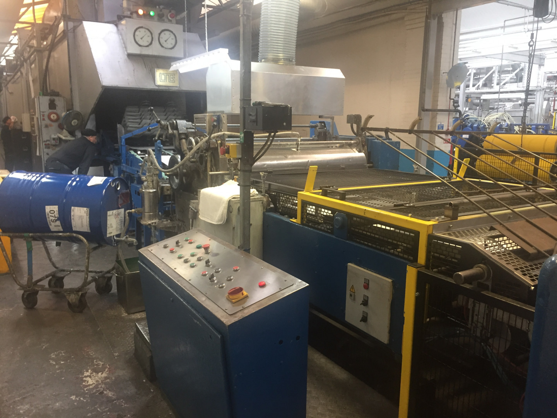 Mailander 460 coating line with LTG tunnel-oven
