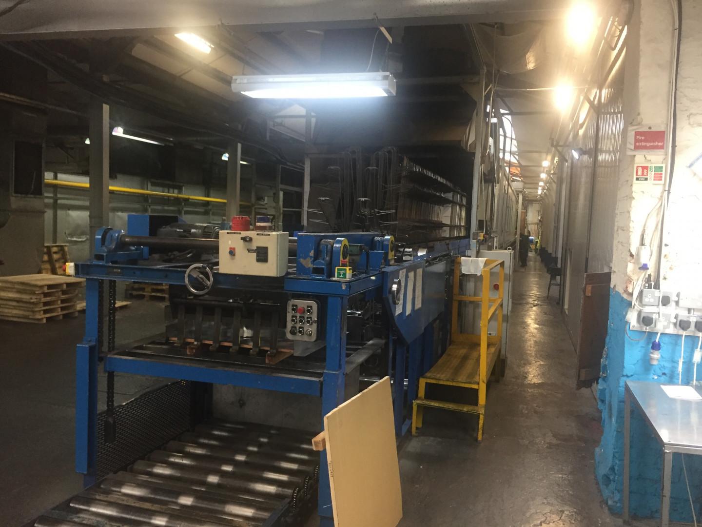 Mailander 460 ligne de vernissage avec LTG four tunnel