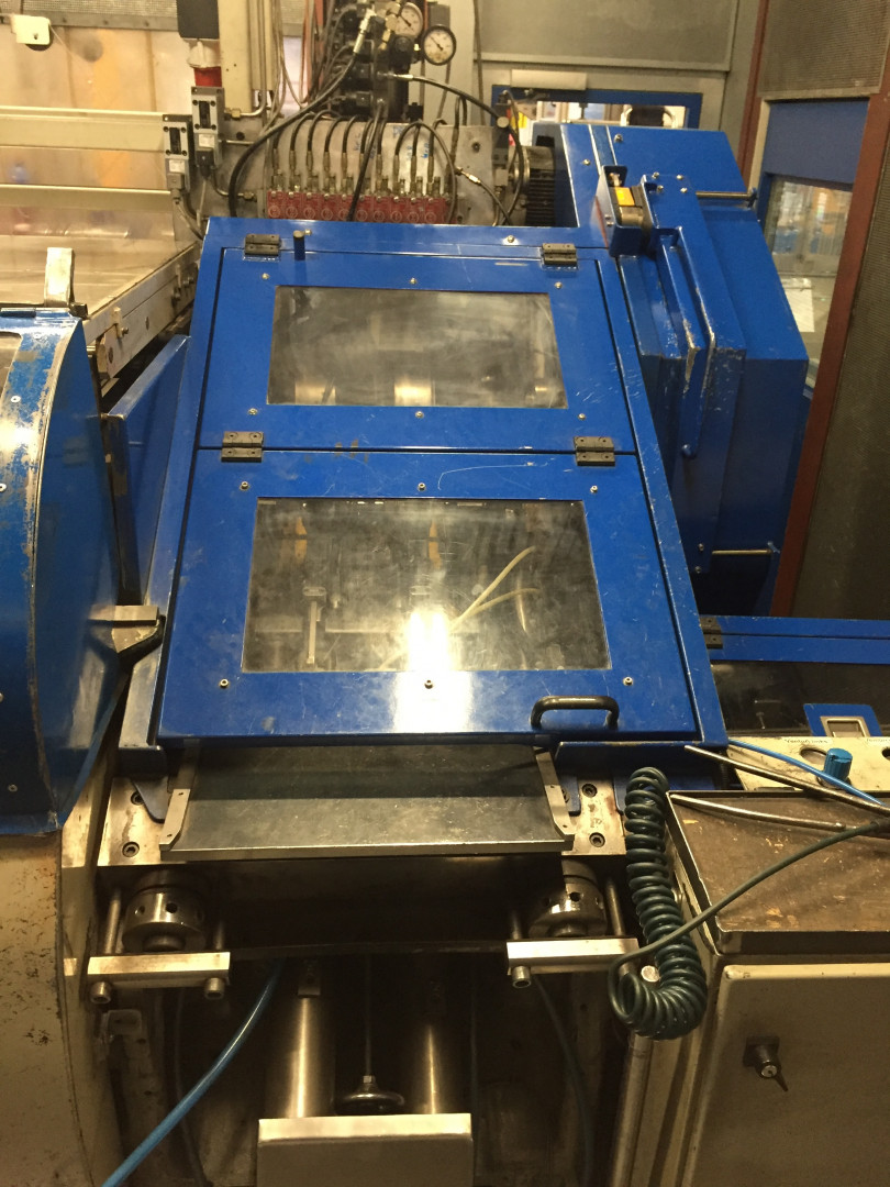 Metal Box 314 stripfeed press - disc curler