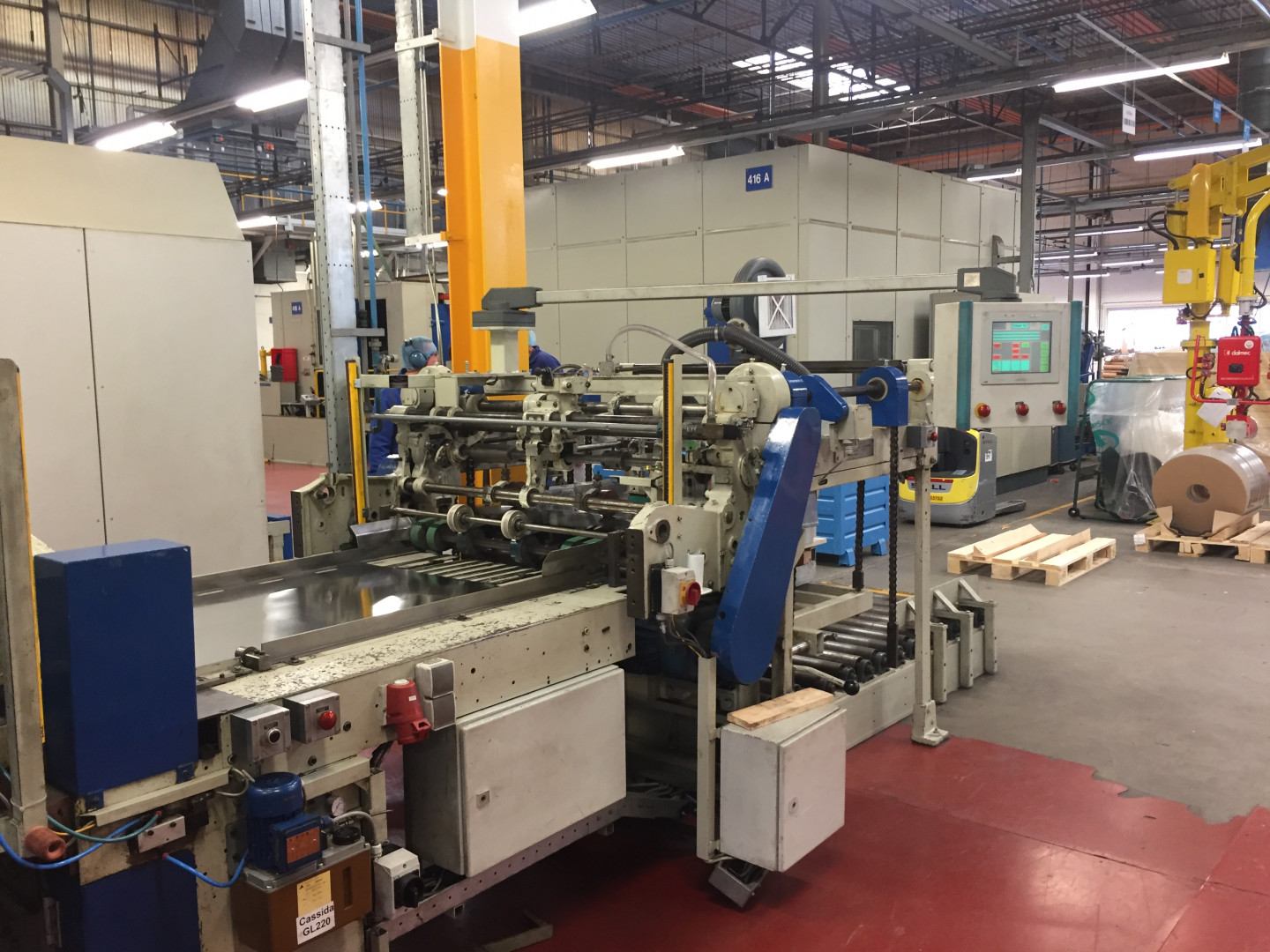 Krupp / Metal Box endmaking line