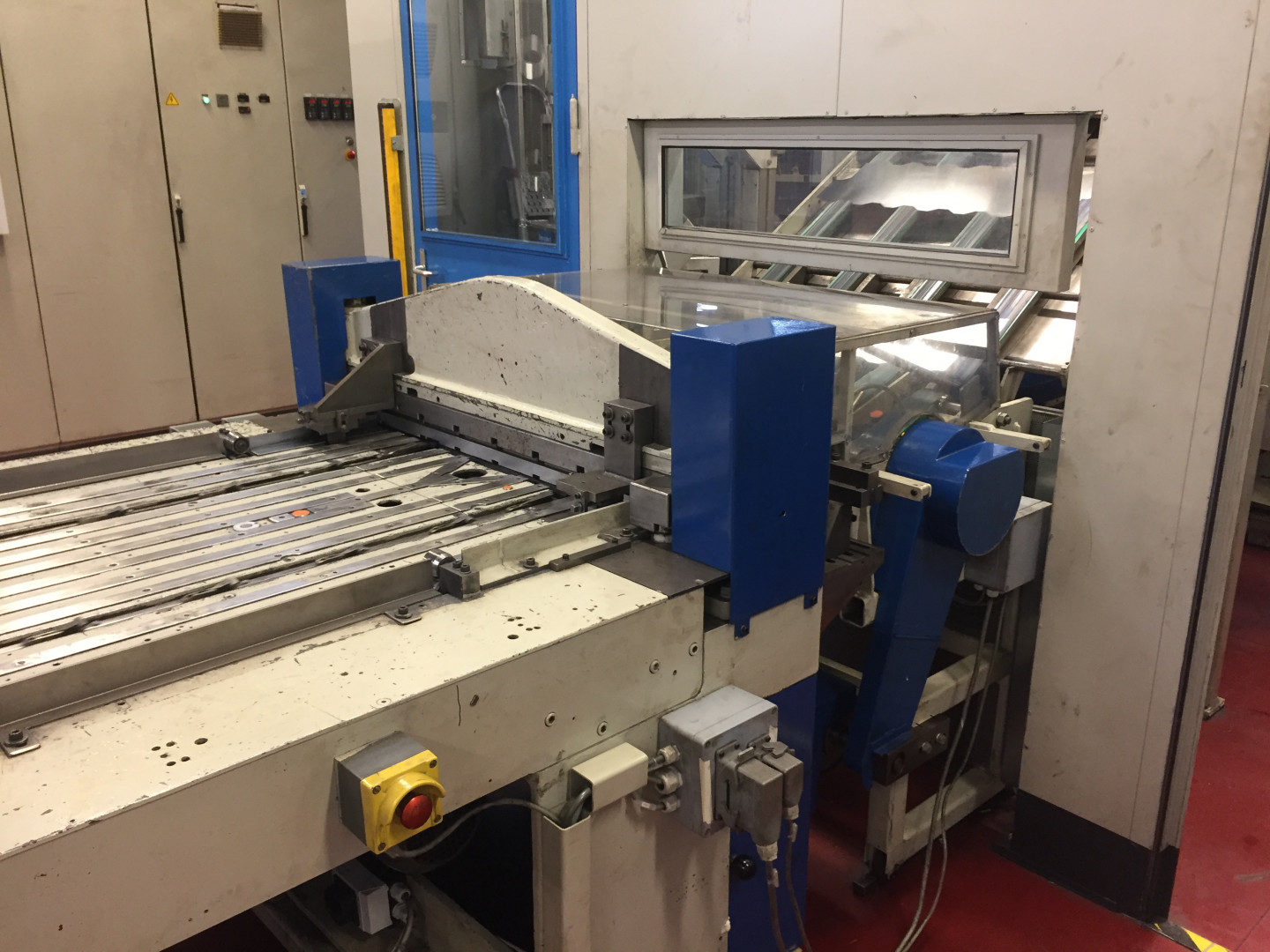 Krupp / Metal Box endline upto CSW wrapper
