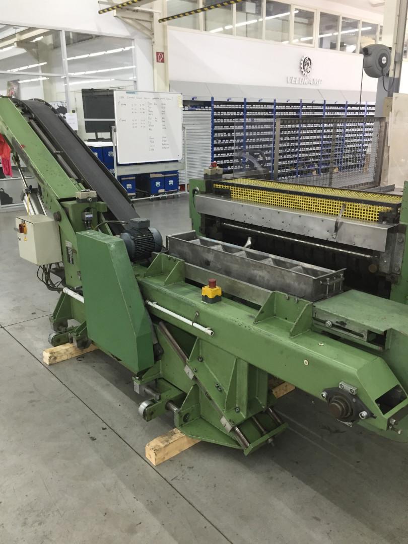 Karges Hammer SD 1150 duplex slitter - sheet feeder - robot