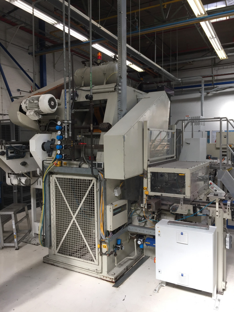 Boettcher & Brueckmann ZUL 40 forming press