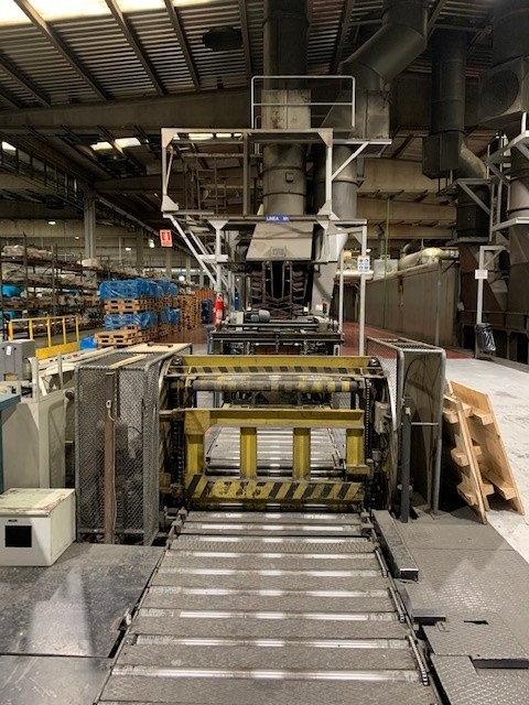 Mailander 460 coating line with 36 meter LTG tunnel-oven