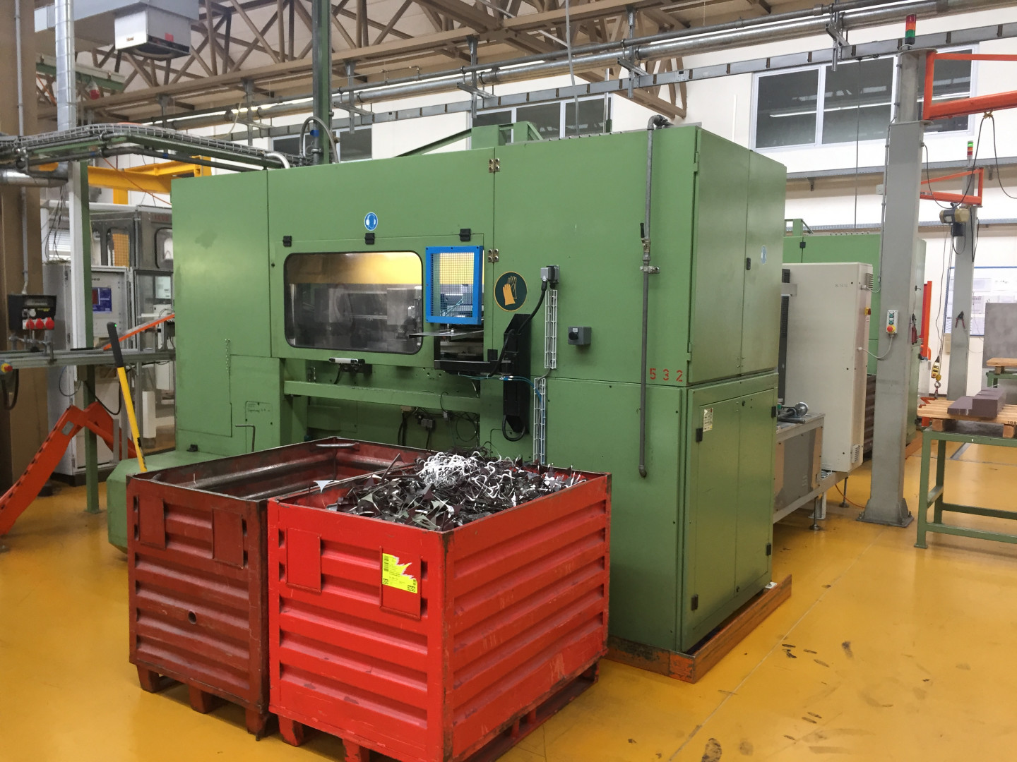 Invernizzi 4 CT 60-75 transfer press