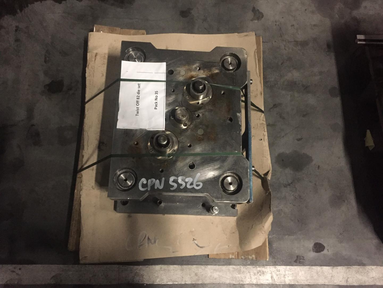 Krupp 40 TF stripfeed press