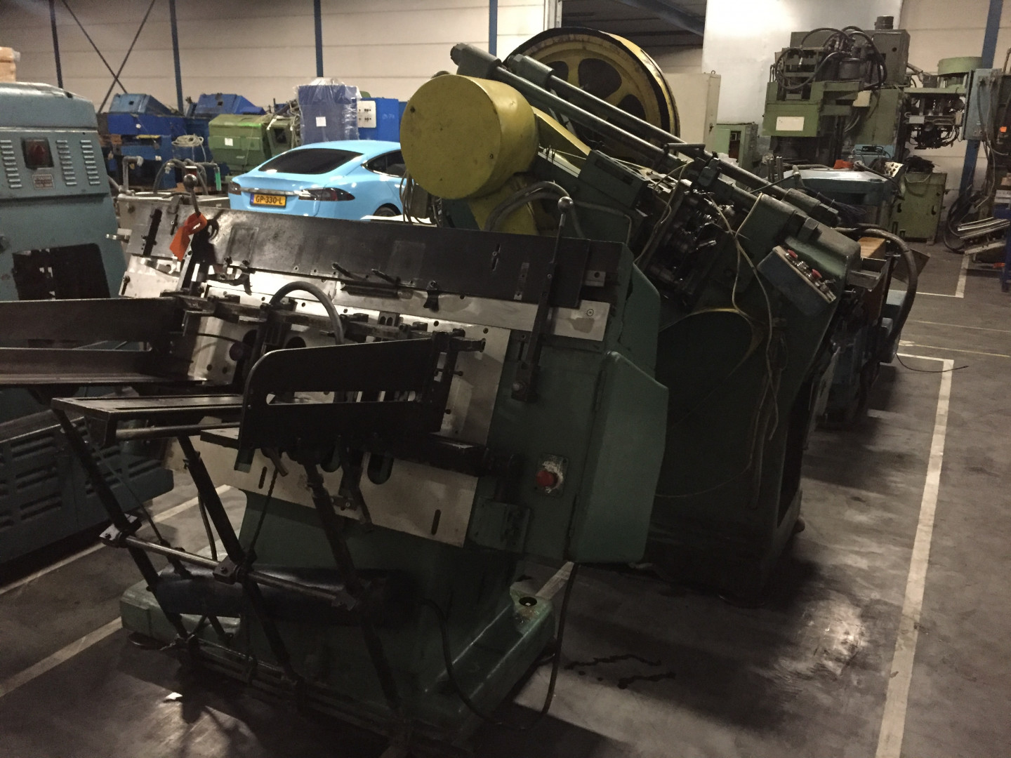 Krupp  stripfeed press
