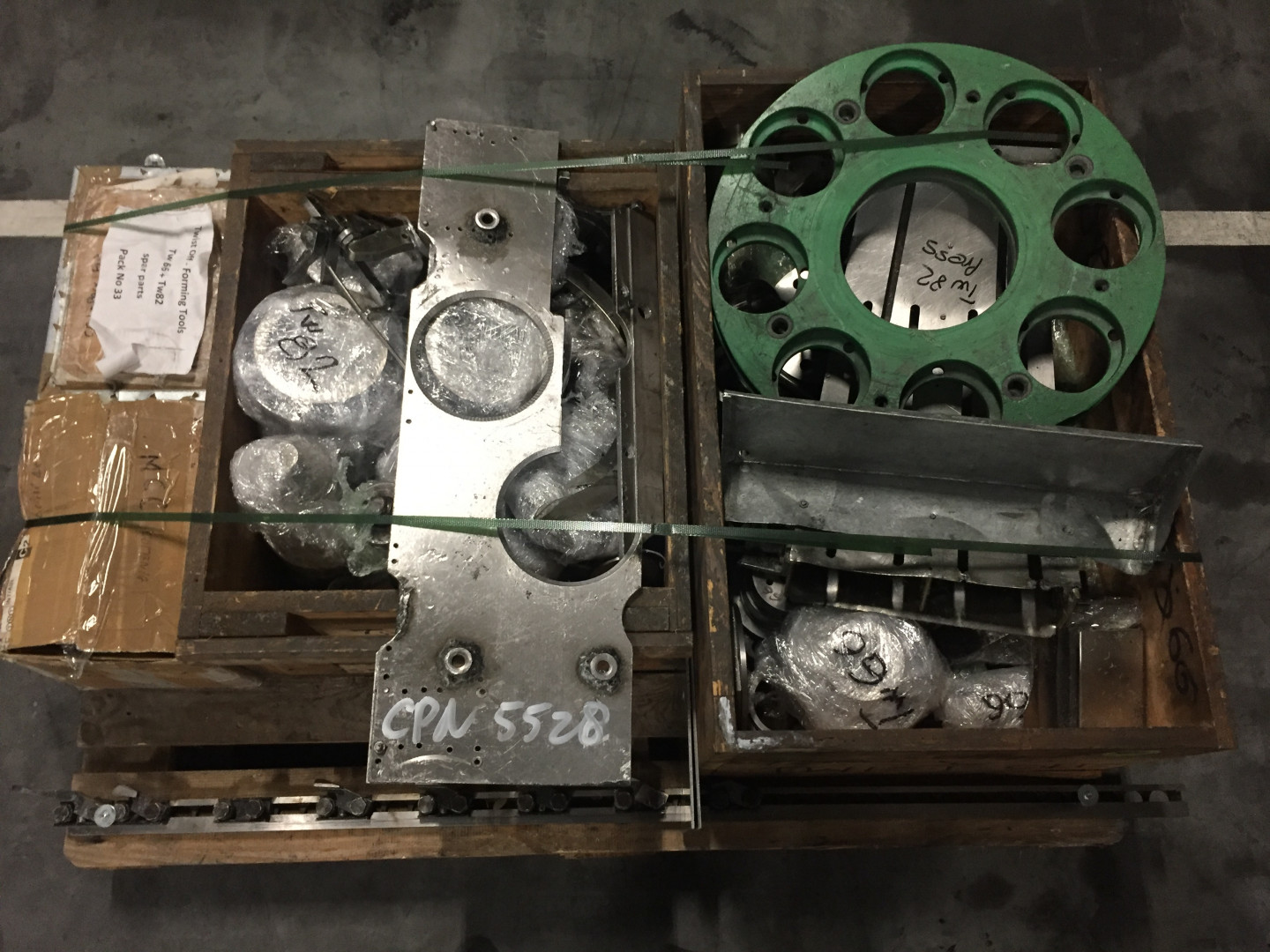 tooling and parts
