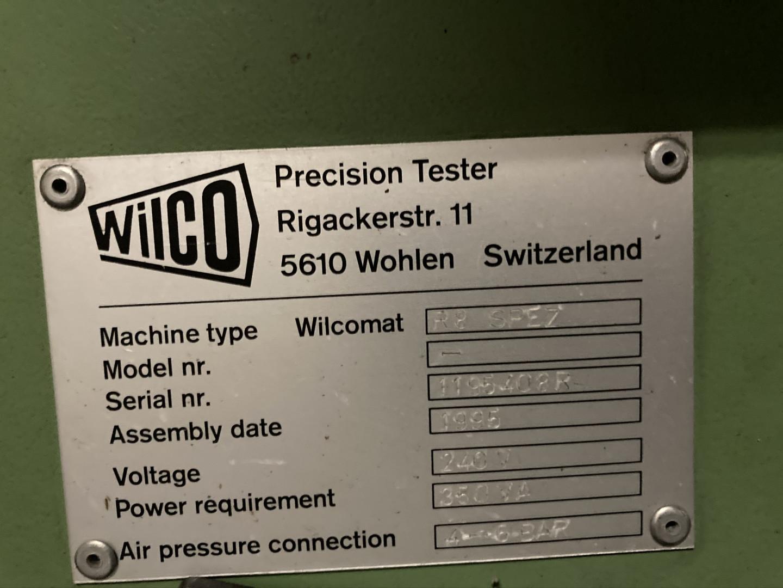 Wilco R 8 SPEZ tester