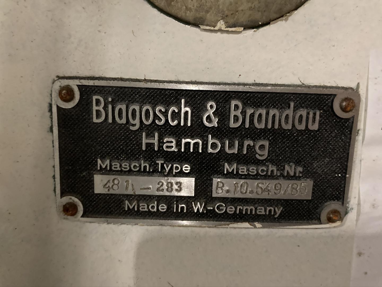 Biagosch & Brandau 481 flanger