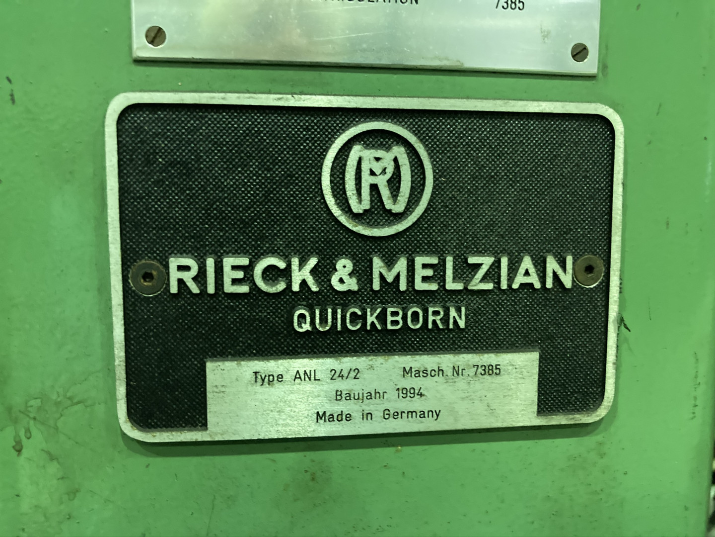 Rieck & Melzian ANL 24/2 miscellaneous