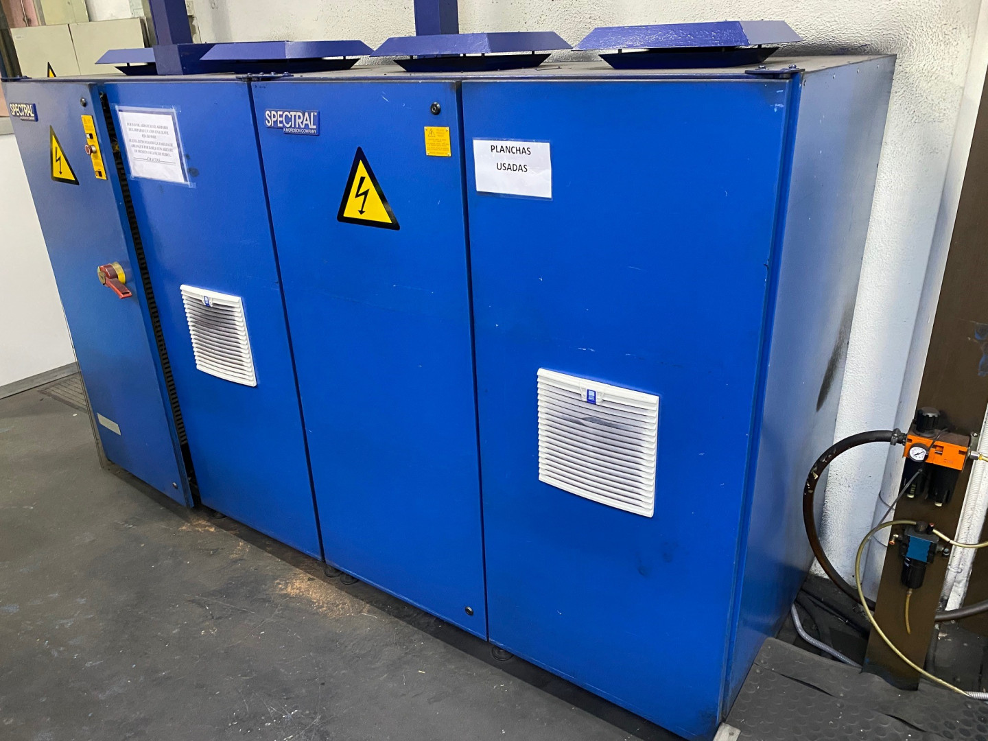 Electrical Cabinets UV Dryer