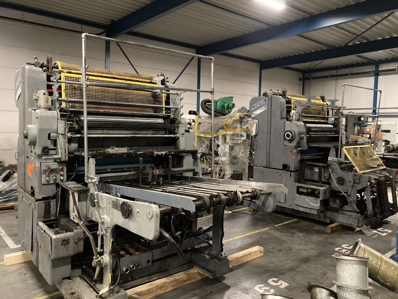 Crabtree Marquess 4036 tandem offset printing - sheet feeder