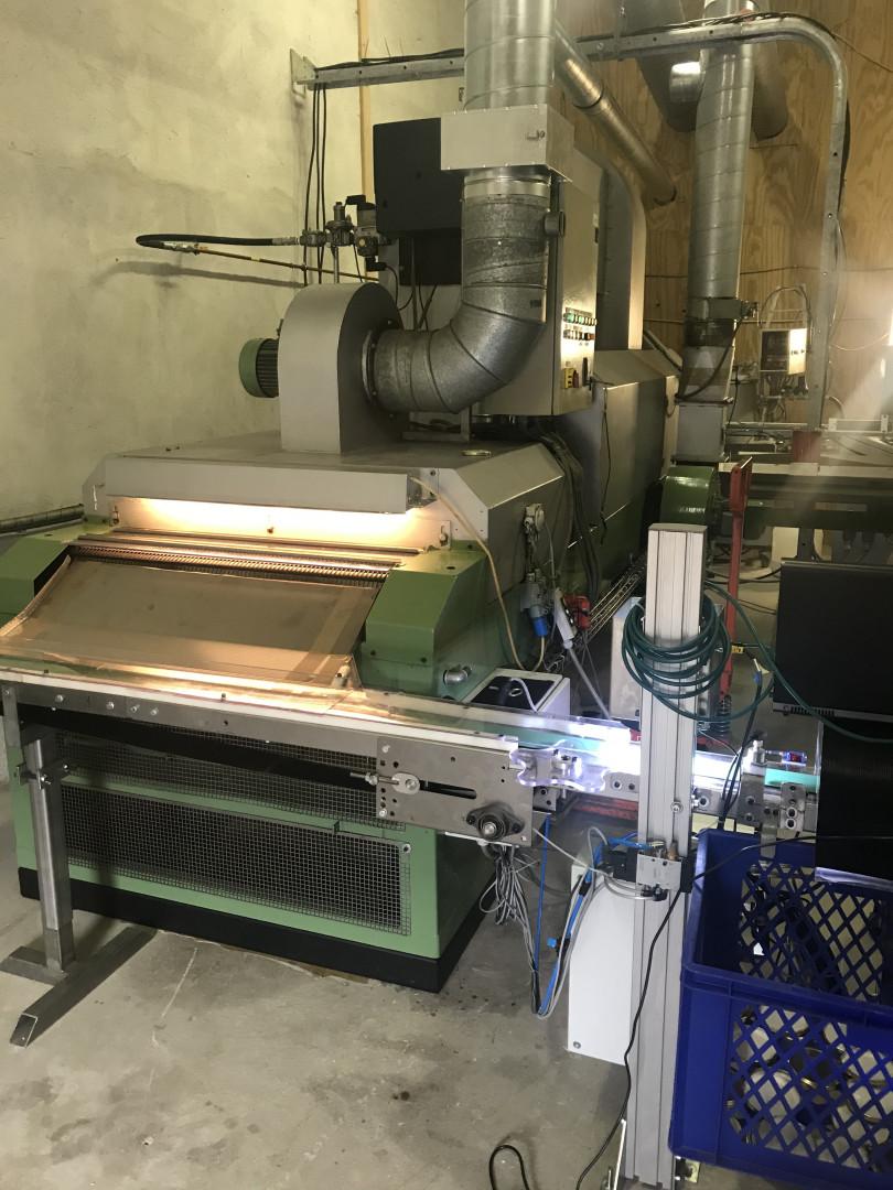 TWIST OFF production line Ø 82 mm